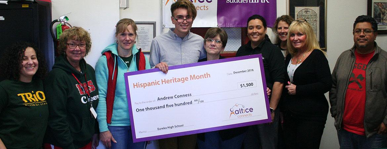 Hispanic Heritage Contest, Eureka HS