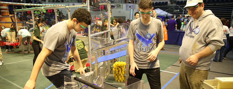 Bethpage High School Robotics Build